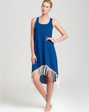 Lucky Brand Swim Coverup Pure Spirit Fringe - Lyst