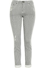 Rag & Bone Dash Striped Slim Jeans - Lyst