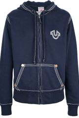 True Religion Hooded Sweater - Lyst