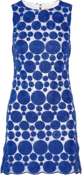 Alice + Olivia Lace Dress - Lyst