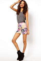 ASOS Collection Asos Mini Skirt in Tie Dye - Lyst