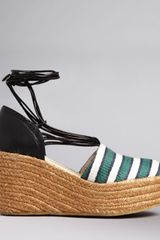 Chloé Ankle Strap Espadrille Wedge Sandals - Lyst