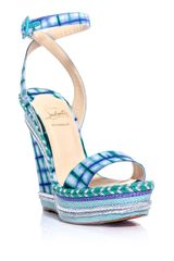 Christian Louboutin Duplice Wedge Sandals