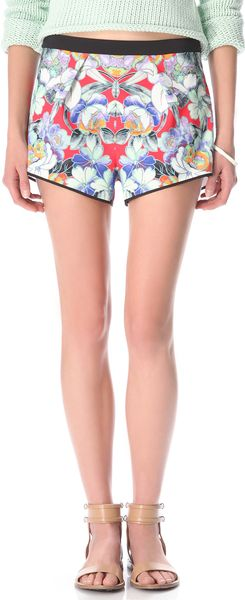 Clover Canyon Flower Tracers Shorts - Lyst