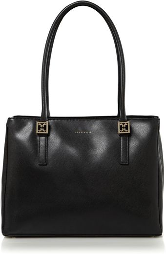 Coccinelle Lady Medium Zip Top Tote - Lyst