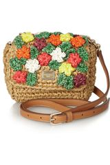 Dolce & Gabbana Miss Kate Raffia Shoulder Bag