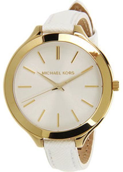 Michael Kors Slim Runway in White (w) - Lyst