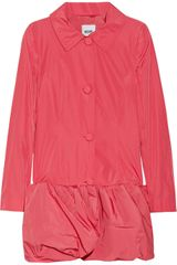 Moschino Cheap & Chic Ruffled Coat - Lyst