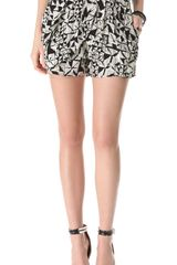 Tbags Los Angeles Print Shorts - Lyst