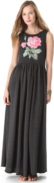 Wildfox Valley Rose Maxi Dress - Lyst