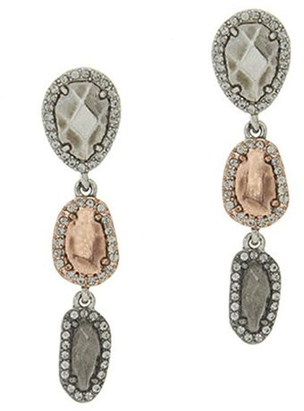 House Of Harlow Rif Drop Earring - Lyst