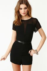 Nasty Gal Censored Romper - Lyst