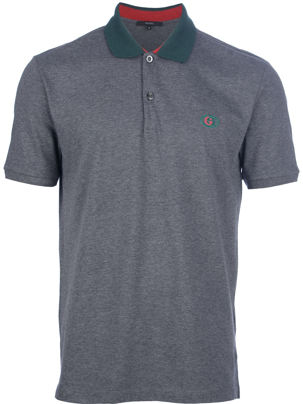 Gucci Polo Shirt In Gray For Men (grey)  14e137aa8c7