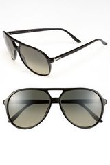 Gucci 59mm Aviator Sunglasses - Lyst