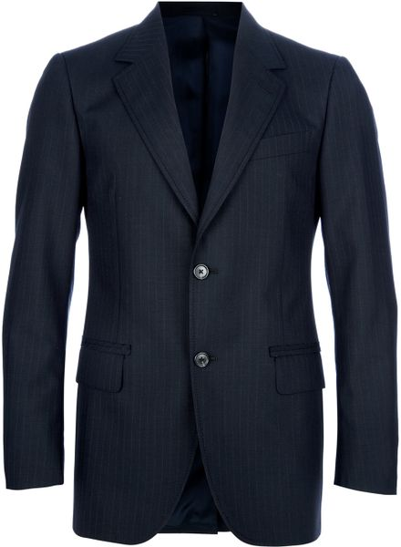 Lanvin Classic Suit in Blue for Men