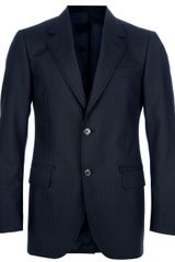 Lanvin Classic Suit in Blue for Men - Lyst