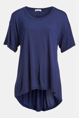 Leith Oversized Highlow Tee - Lyst