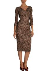 L'Wren Scott Lace Pencil Dress - Lyst