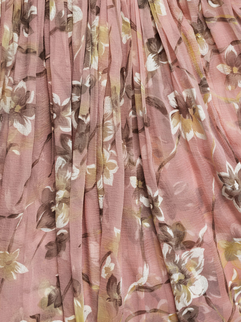 Lyst Balenciaga Jonquille 1964 Edition Silk Dress In Pink