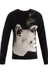Christopher Kane Frankenstein Print Sweat Top - Lyst