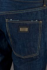 Dolce & Gabbana Slim Fit Jeans in Blue for Men - Lyst