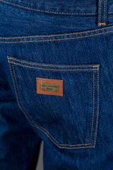 Dolce & Gabbana Straight Leg Jean in Blue for Men - Lyst