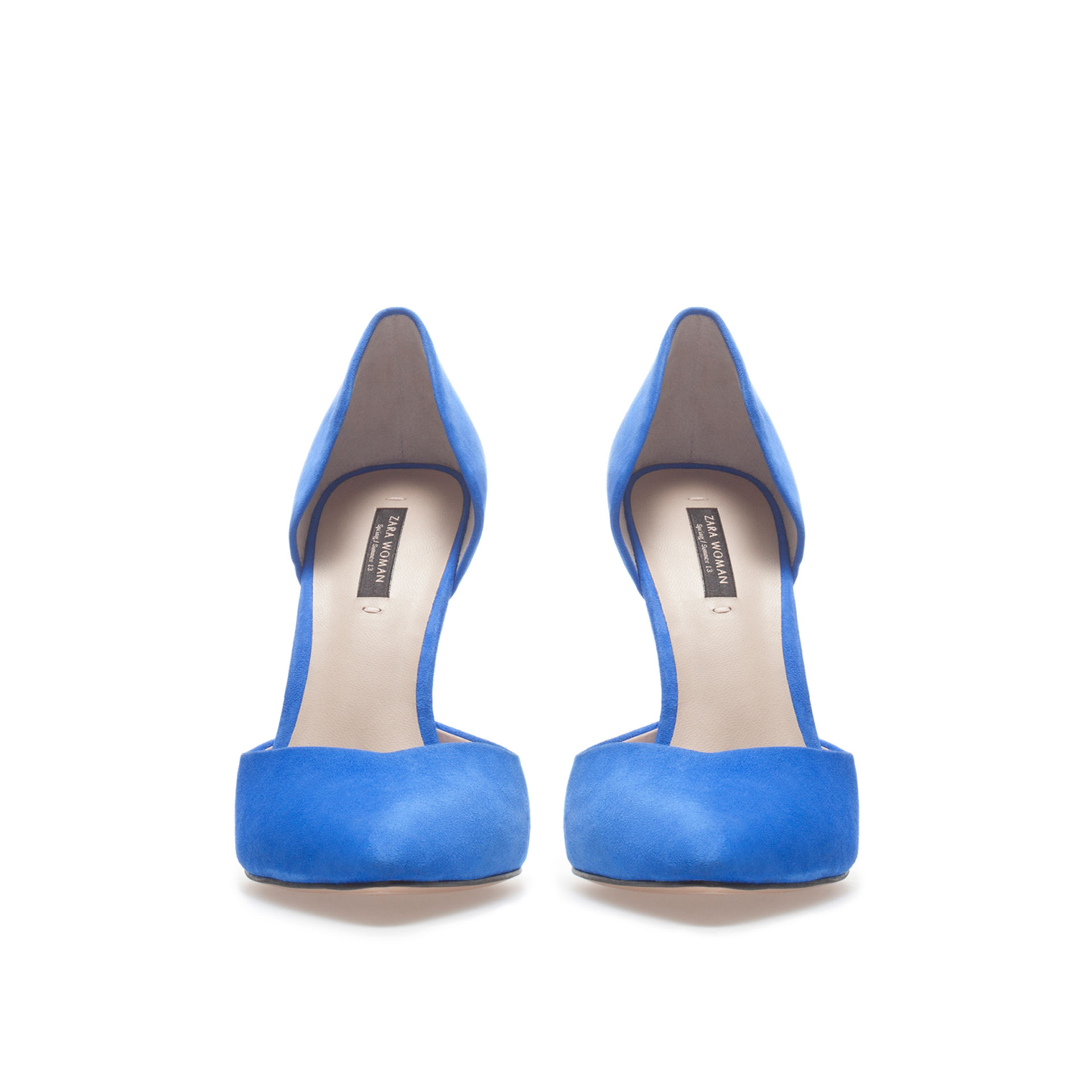 Electric Blue High Heels