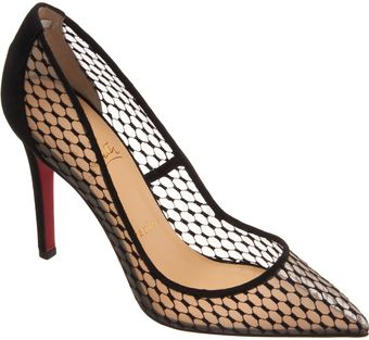 Christian Louboutin Pin Toe Pumps - Lyst