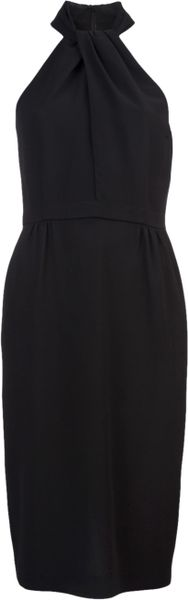 Giambattista Valli Twist Neck Dress - Lyst