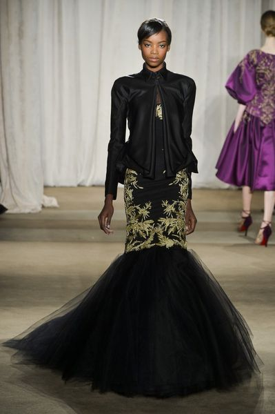 Marchesa Fall 2013 Runway Look 27 in  - Lyst