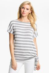 Michael by Michael Kors Stripe Top - Lyst