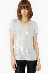 Nasty Gal In The Clear Tee - Lyst