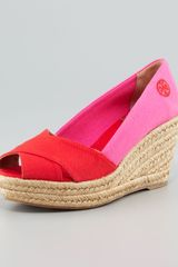 Tory Burch Filipa Colorblock Espadrille - Lyst