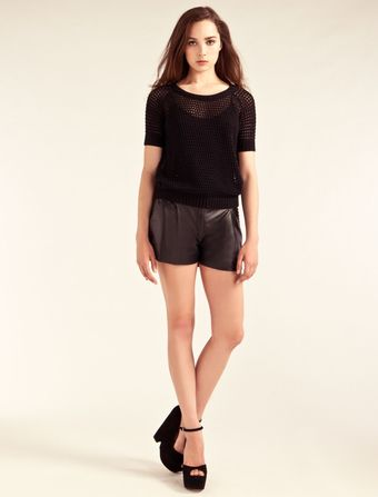 Alice By Temperley Clarinet Short Sleeve Jumper - Lyst