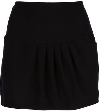 Avhash by Anne Valérie Hash Draped Mini Skirt - Lyst