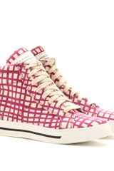 Marc By Marc Jacobs Mylo Print Hightop Sneakers