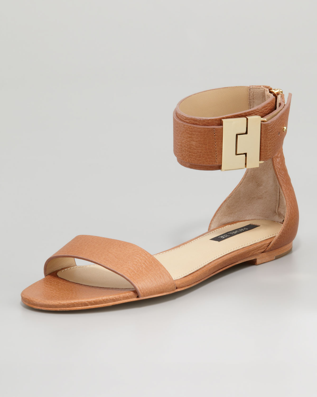 footlocker pictures sale online clearance official site Rachel Zoe Leather Ankle Cuff Sandals wiki outlet for cheap fake cheap price RvYwew