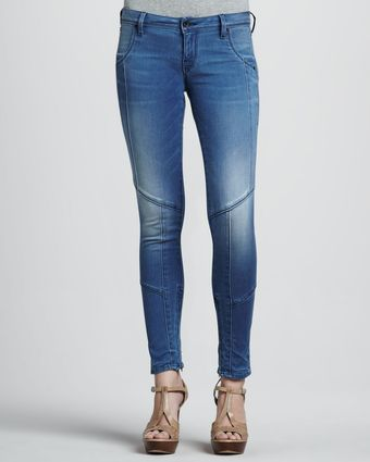 Sinclair Eero Seamed Over Out Faded Jeans - Lyst