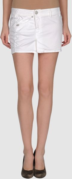 Seal Kay Mini Skirt - Lyst
