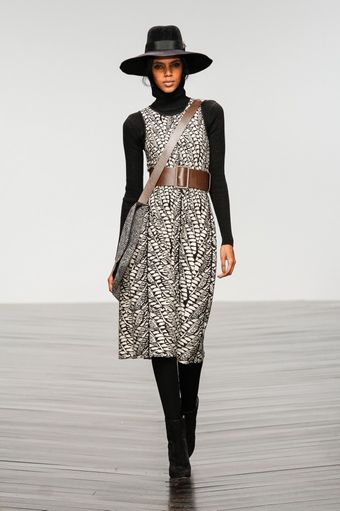 Issa Fall 2013 Runway Look 6 - Lyst