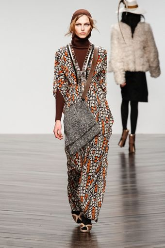 Issa Fall 2013 Runway Look 9 - Lyst