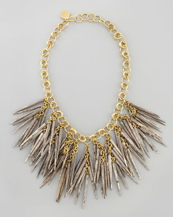 Ashley Pittman Dark Quillbead Necklace - Lyst