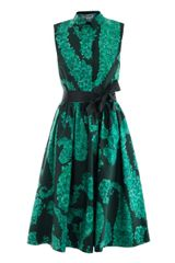Giambattista Valli Paisley Floralprint Cotton Dress - Lyst