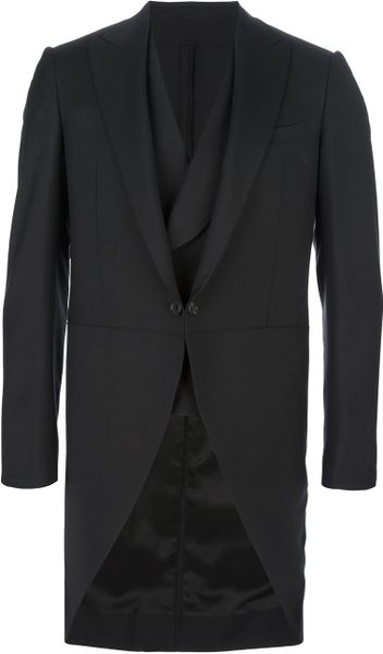 Lanvin Blazer and Trouser Suit Set in Black for Men - Lyst