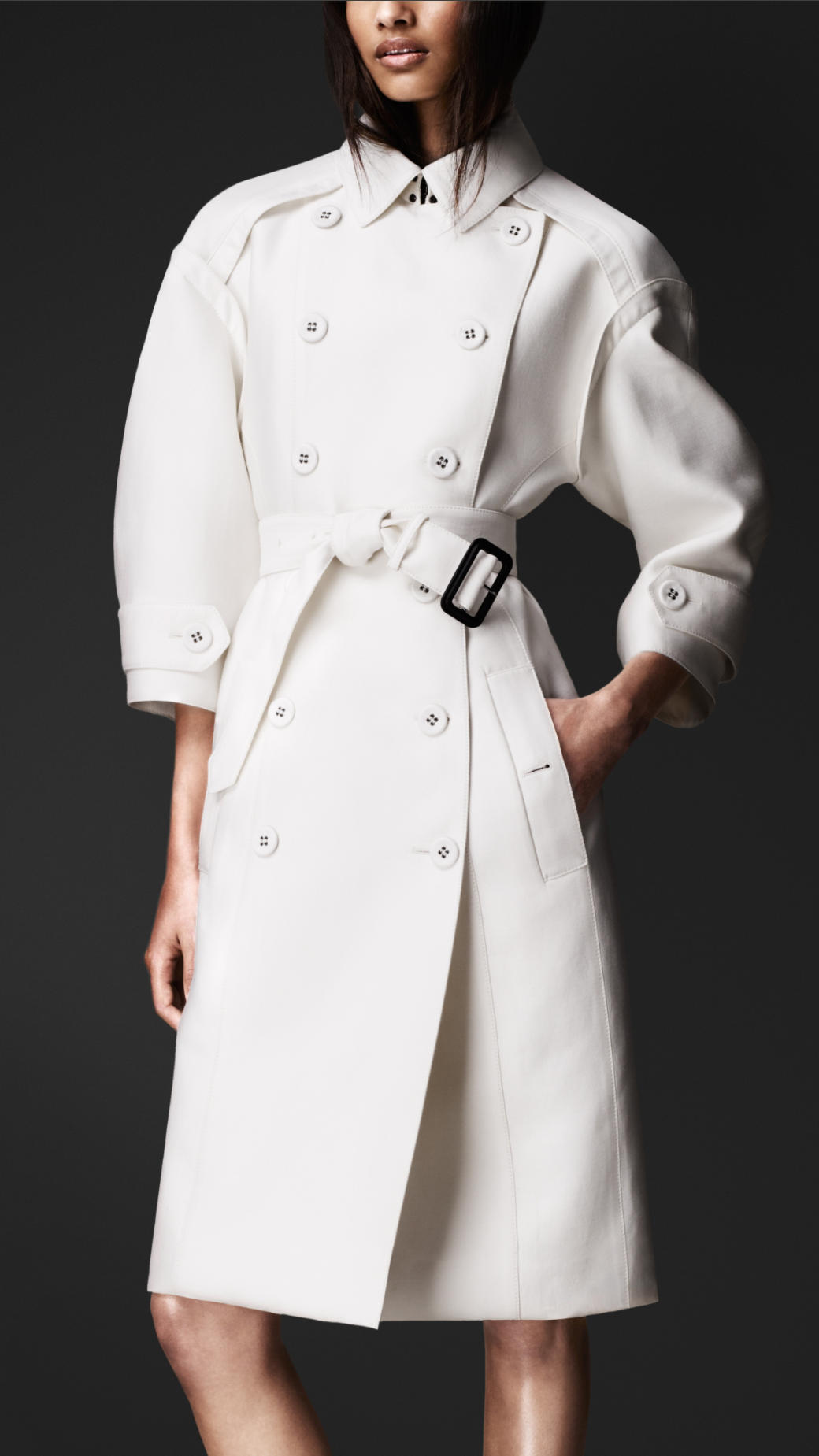 Lyst Burberry Prorsum Double Duchess Tailored Trench