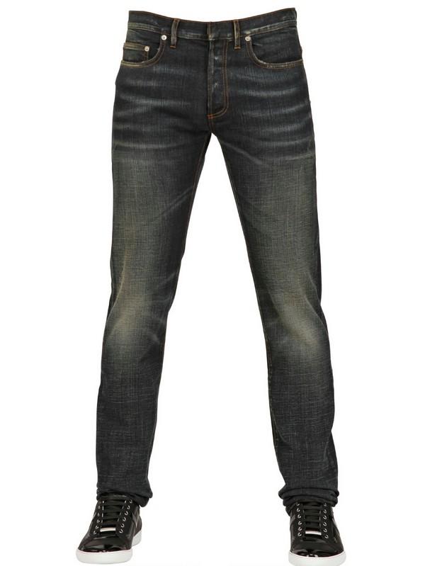 dior homme 175cm jake stretch denim jeans in blue for men. Black Bedroom Furniture Sets. Home Design Ideas
