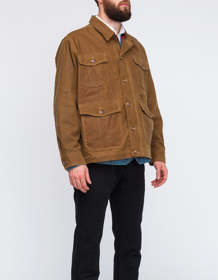 Lyst Filson Westlake Waxed Jacket In Brown For Men