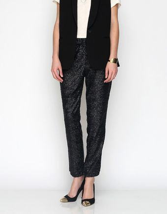 Free People Candy Sequin Party Pant - Lyst