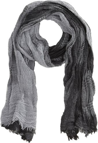 John Varvatos Double Faded Glen Plaid Scarf - Lyst
