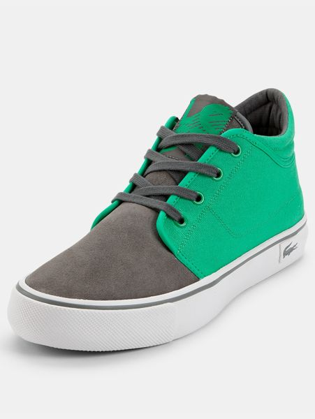 Lacoste Lacoste Vaultstar Chukka Mens Shoes In Green For
